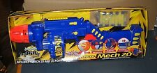 BUZZ BEE TOYS MECH 20 MOTORIZED DART BLASTER GUN  AGES 6+ RAPID FIRE