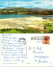 1980's THE SANDS MORAR LOCHABER INVERNESS SHIRE SCOTLAND COLOUR POSTCARD