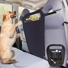 Safety Pet Dog Backseat Barrier Mesh Restraint Vehicle Divider Car SUV Truck Van
