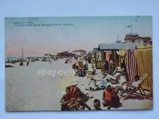 Bagni di GRADO spiaggia capanne Gorizia vecchia cartolina