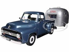 1953 FORD F100 PICKUP & CAMPER SET 1/18 BY ROAD SIGNATURE AND MCC 92148-11111