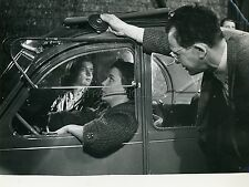 ALIDA VALLI  LES YEUX SANS VISAGES FRANJU 1960 PHOTO ORIGINAL #2 MOVIE SET 2CV
