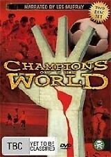 CHAMPIONS OF THE WORLD - Narrated by Les Murray - 2 DISCS DVD BRAND NEW & SEALED