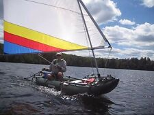 Sail Kit for Sea Eagle & Saturn Inflatable Kayaks (Explorer, Fast Track, etc.)