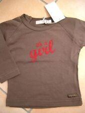 """(186) Imps & Elfs Baby Langarm Shirt + """"It´s a Girl"""" Druck & Logo Aufnäher gr.74"""