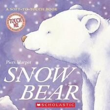 Snow Bear (Soft-To-Touch Books)-ExLibrary