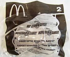 2002 McDonald's Happy Meal Inspector Gadget 2 Disney Fiber Optic Scooter MIP C10