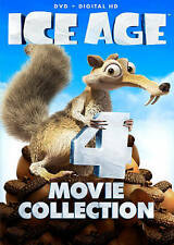 ICE AGE 1 2 MELTDOWN 3 DAWN OF THE DINOSAURS 4  CONTINENTAL DRIFT DVD + DIGITAL