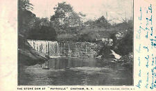 Chatham (Paynville),New York,Old Stone Dam,Columbia County,Used,Chatham,1906