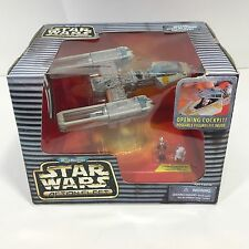 Star Wars Action Fleet Gold Leader Y Wing Micro Machines New