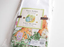 POTTERY BARN KIDS PETER RABBIT BUNNY TABLE RUNNER EASTER TABLE DINING EAT DECOR