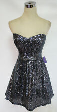 WINDSOR CHARCOAL Prom Dance Party Dress 11 - $90 NWT