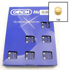 Caflon Mini Gold Plate Ear Piece Studs Pack of 12 pairs  24 Studs