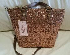 Juicy Couture Sequin Rose Gold Mini Tote