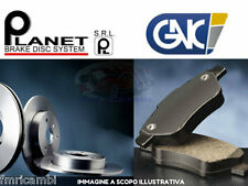 KIT DISCHI + PATTINI FRENO POST. MERCEDES CLASSE C W203 200CDi 220CDi Berlina+SP