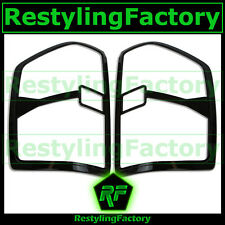 2015 15 Chevy Silverado 2500+3500 HD Gloss Shinny Black Taillight Trim Cover