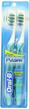 Oral B Pulsar Vibrating Soft BristlesToothbrush Twin Pack, Battery Included.