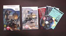 Nintendo Wii Monster Hunter Tri 3 Japan Import Game