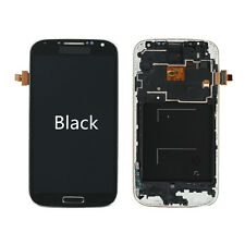 LCD Display Touch Screen Glass Digitizer Frame for Samsung Galaxy S4 i9505 Black