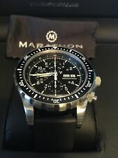 2017 NEW Marathon Swiss Made CSAR - 300m Automatic Pilots Chronograph Watch