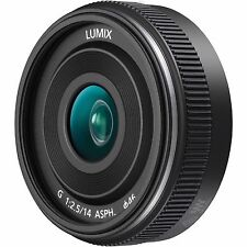 Panasonic Lumix G 14mm F2.8 ASPH Lens. FIT TO ALL LUMIX MICRO DIGITAL CAMERA