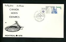 Postal History Canada NR Covers FDC #687-688 SET OF 2 Olympic Games 1976