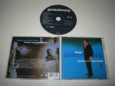 SERGE GAINSBOURG/LOVE AND THE BEAT 1(MERCURY/SSC 3607)CD ALBUM
