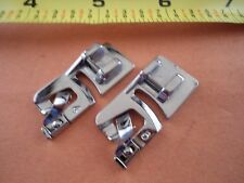 2 Snap on 4mm,6mm Hemmer Foot Elna Singer Brother Babylock Janome New Home other