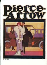 POST CARD OF ANTIQUE AUTOMOBILE ADVERTISEMENT PIERCE-ARROW FROM 1911
