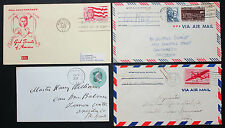 US postage set of 4 covers Jamboree Fancy cancel FDC GS LUPO USA lettere (h-8282
