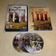 Age of Empires III (PC, 2005) windows real-time strategy gmae