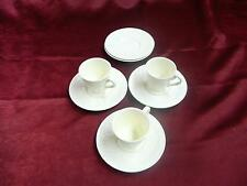 Vintage antique Wedgewood of Etruria made in England china tea cups and saucers