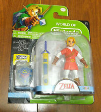 "World of Nintendo-LINK in GORON TUNIC (RED)-4""Series 2-2 jakks Pacific (Zelda)"