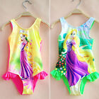 Girls Kids Bathing Suit Swimwear Bikini Tankini Swimsuit Swimming Costume 2-10Y