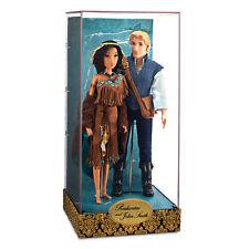 Disney Store Fairytale Design Pocahontas & John Smith Limited Edition Set - NEW