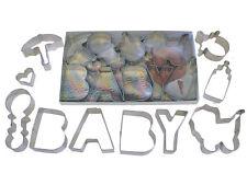 Baby Shower Cookie Cutter 10 Piece Set