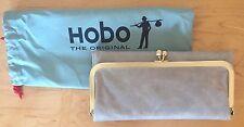 Nwt Women's Hobo International Leather Wallet Rachel, Cloud Gray
