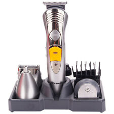 Pro Salon Body Beard Hair Men Cut Clipper Shaver Machine Kit Trimmer Set EU Plug