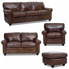 American Made Home Theater Sectional In Top Grain Leather