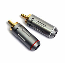 1pair FURUTECH FP-162(G) FP-162 RCA Connector Male Plug Gold-Plated Japan