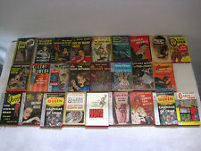 Vintage Lot of 26 Ellery Queen Mystery Novels Paperback-30's-60's-FAST SHIPPING!