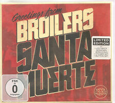 "BROILERS ""Santa Muerte"" Limitied Edition CD + DVD Box sealed"