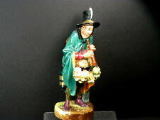 "VINTAGE H/P ROYAL DOULTON FIGURINE THE MASK SELLER HN2103 8-3/4"" HIGH CA 1952"