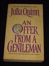 msm* SALE : JULIA QUINN ~ AN OFFER FROM A GENTLEMAN