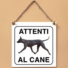 Thai Ridgeback 2 Attenti al cane Targa piastrella cartello ceramic tile sign dog