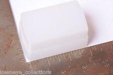 """Flash Diffuser - Approx. 1 3/4 x 2 7/8"""" Attachment - White - USED C141"""