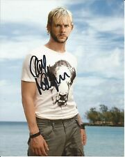 Hand Signed 8x10 photo DOMINIC MONAGHAN in LOST as CHARLIE PACE + my COA
