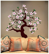 Matte Finish - CHERRY BLOSSOM TREE  Wall Decal Deco Art Sticker Mural