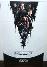 "IMAX Exclusive Star Wars Rogue One: A Star Wars Story Movie Poster Print 13""X19"""