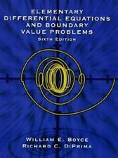 Elementary Differential Equations and Boundary Value Problems, 6th Edition